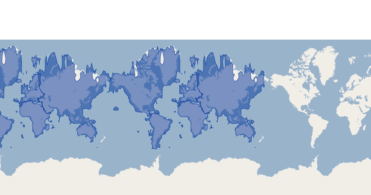 Flickr Shapefiles Public Dataset 2 0 Continents | GIS Map Data | Sam